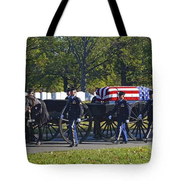 On Their Way To Rest Tote Bag