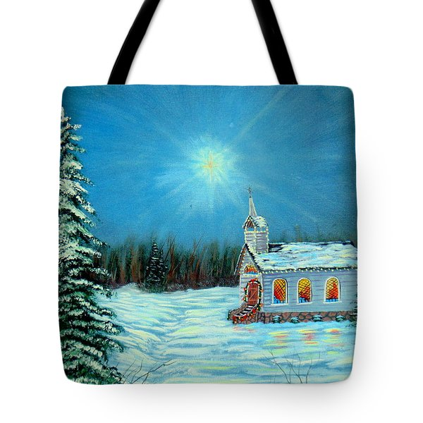 On This Night Tote Bag by David Bentley