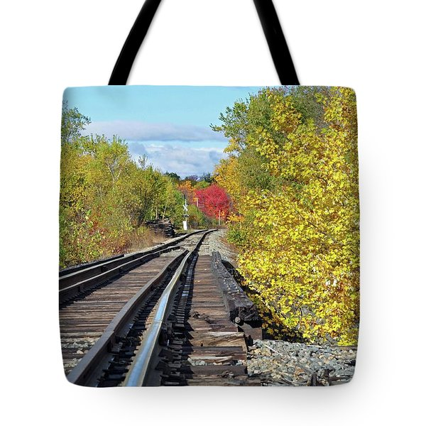 On To Fall Tote Bag by Glenn Gordon