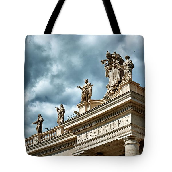 On Top Of The Tuscan Colonnades Tote Bag