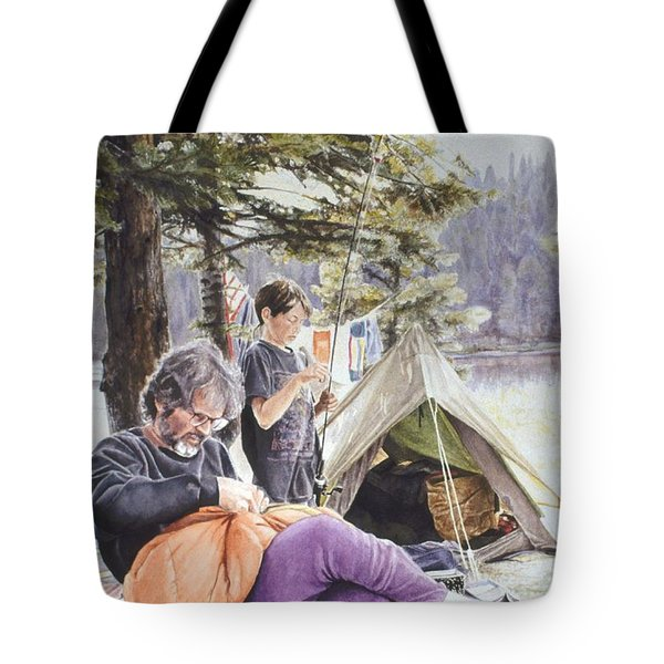 On Tulequoia Shore Tote Bag