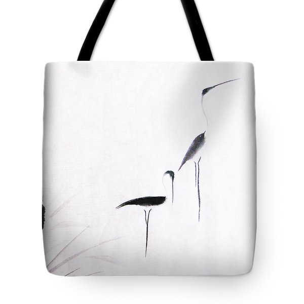 On Typha Pond Tote Bag