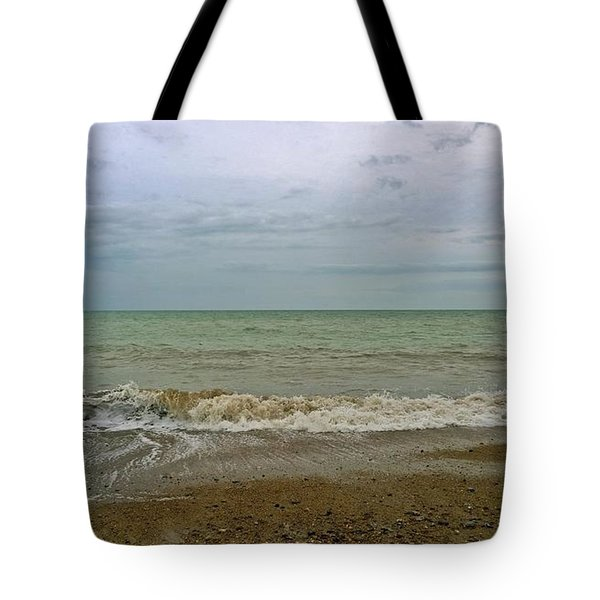 Tote Bag featuring the photograph On Weymouth Beach by Anne Kotan