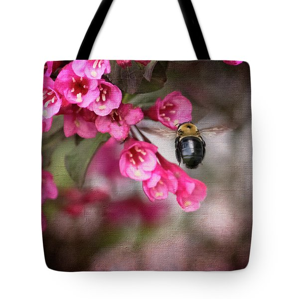 On Wine And Roses Weigela - 2 Tote Bag