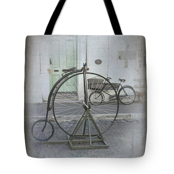 Tote Bag featuring the photograph On Your Bike by Elaine Teague