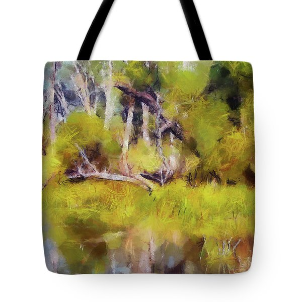 Once A Great Tree Tote Bag