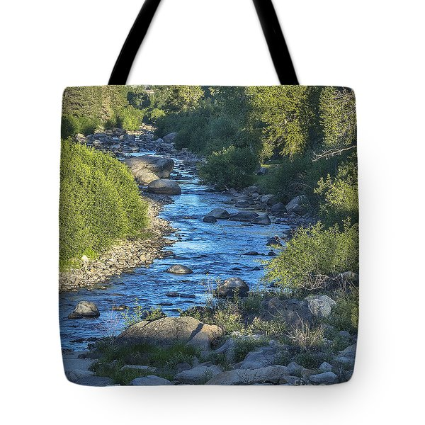 Once A River Tote Bag
