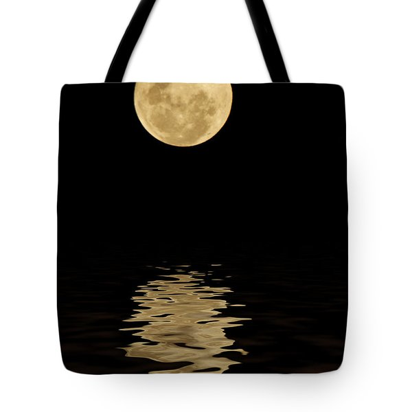 Once In A Blue Moon Tote Bag by Darren Fisher
