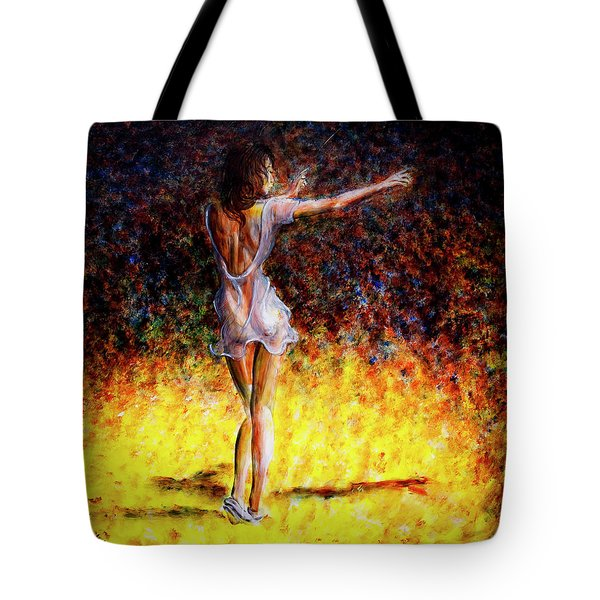 Once In A Lifetime V Tote Bag by Nik Helbig