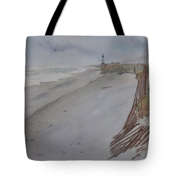 Once There Was A Lighthouse Tote Bag