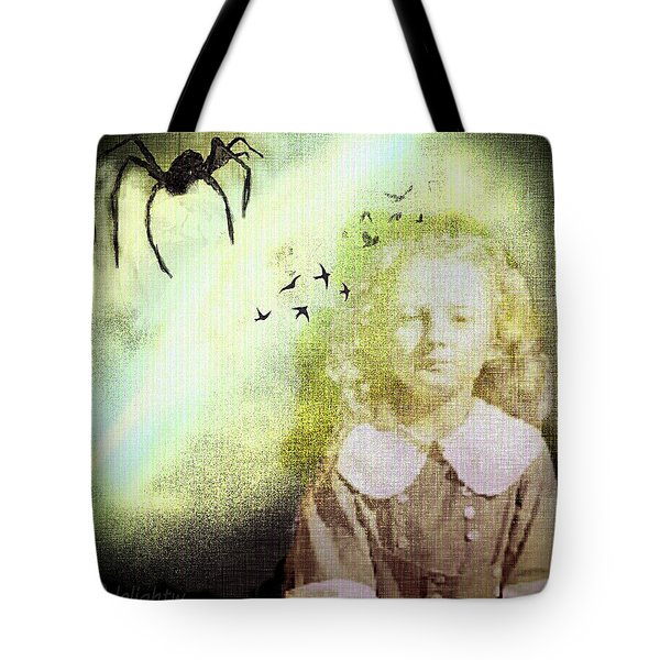 Once There Was A Spider Tote Bag