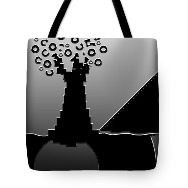 Once Upon A Time Tote Bag by Misha Bean