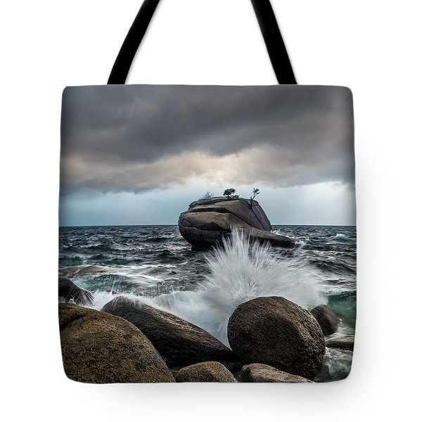 Oncoming Storm Tote Bag