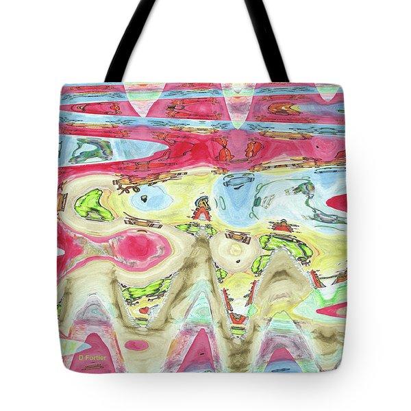 Ondes De Choc / Shock Waves Tote Bag