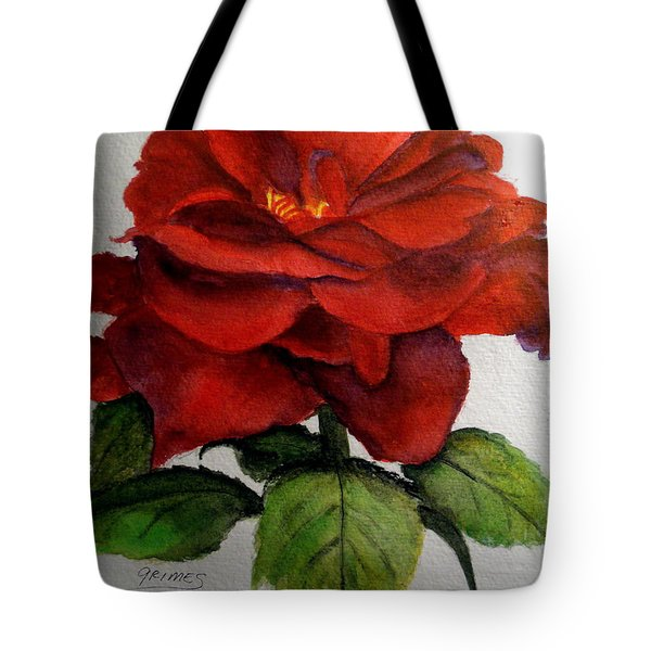 One Beautiful Rose Tote Bag