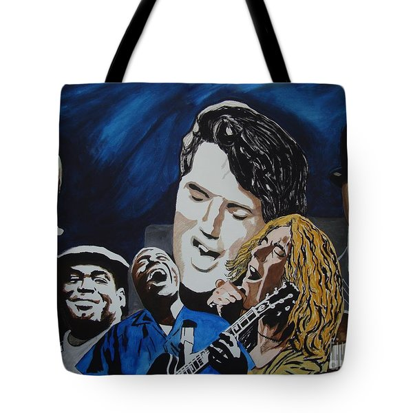 One Breath Tote Bag