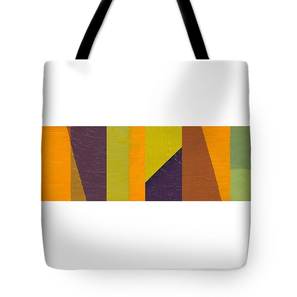 Tote Bag featuring the painting One By Three by Michelle Calkins