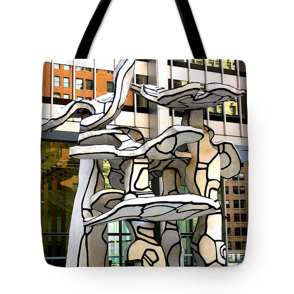 One Chase Manhattan Plaza 1 Tote Bag
