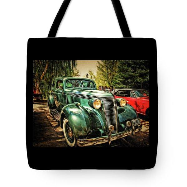 One Cool 1937 Studebaker Sedan Tote Bag