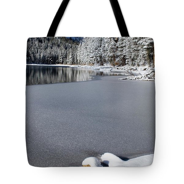 One Cool Morning Tote Bag by Chris Brannen