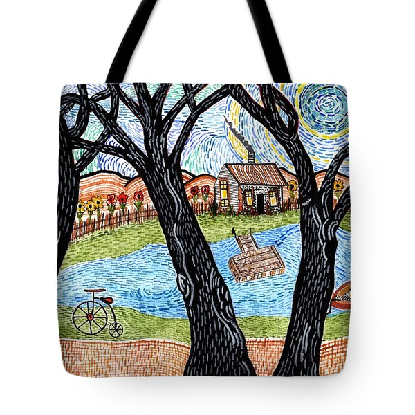 One Country Home Tote Bag