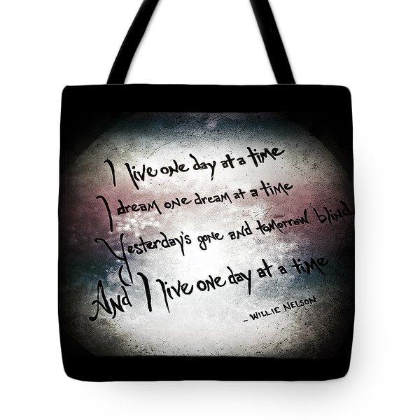 Tote Bag featuring the photograph One Day.... by Trish Mistric