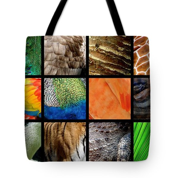 One Day At The Zoo Ll Tote Bag