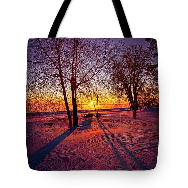 Tote Bag featuring the photograph One Day Closer by Phil Koch