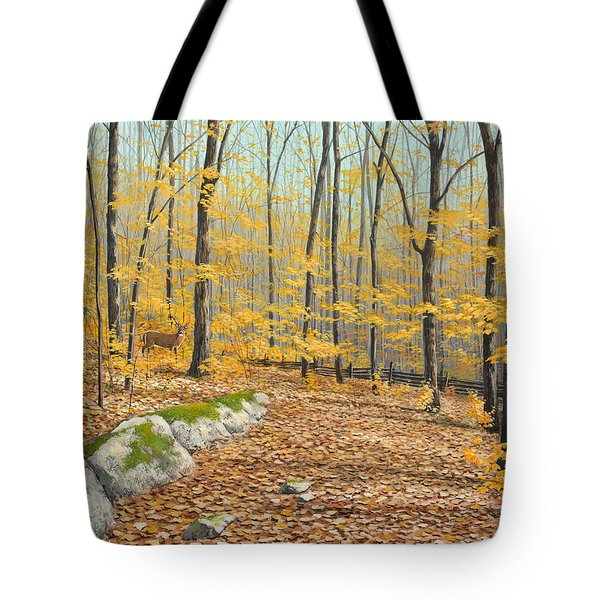 One Day In October Tote Bag