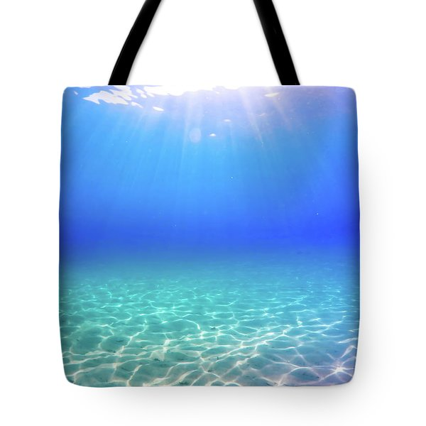 One Deep Breath Tote Bag