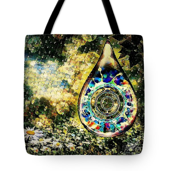 One Drop In The Rain Tote Bag