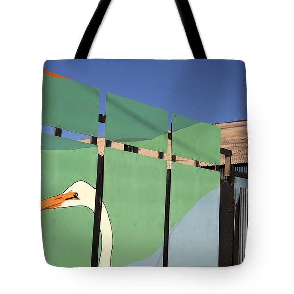 One Egret Tote Bag