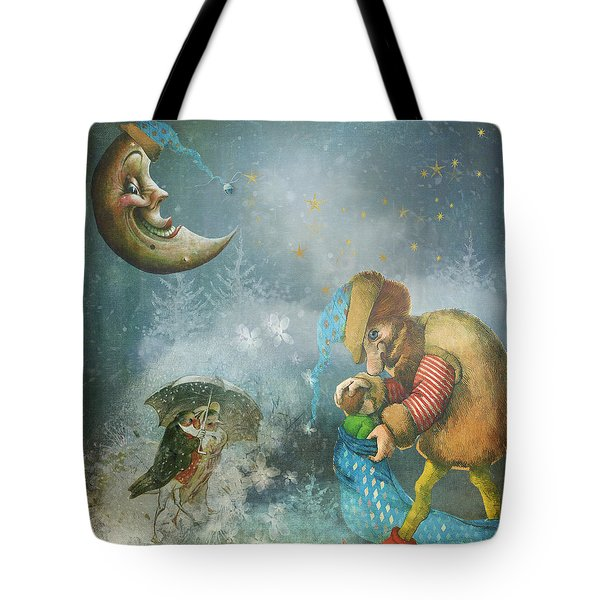 One Enchanting Evening Tote Bag by Diana Boyd