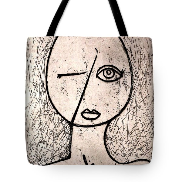 One Eye Tote Bag