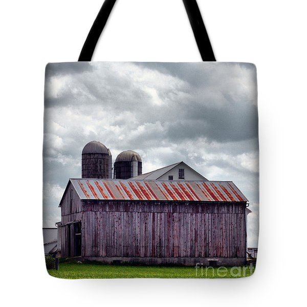 One Fine Cloudy Day  Tote Bag