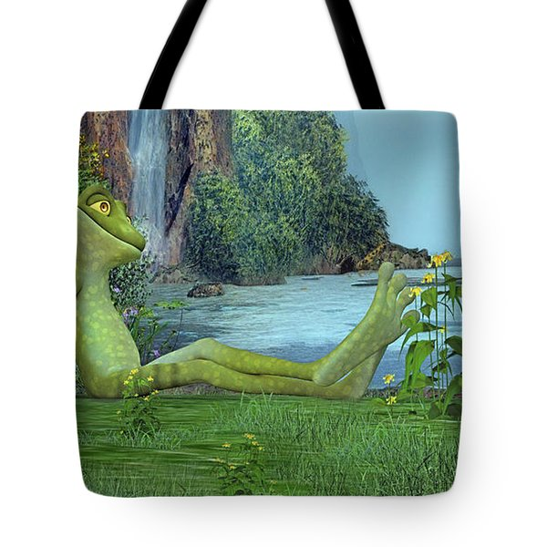 One Fine Day Tote Bag by Betsy Knapp