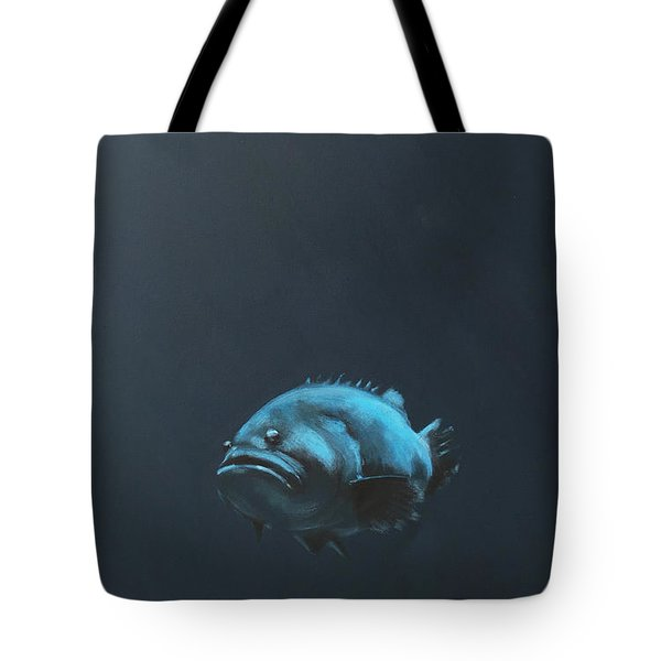 One Fish Tote Bag by Jeffrey Bess