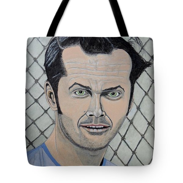 One Flew Over The Cuckoo's Nest. Tote Bag