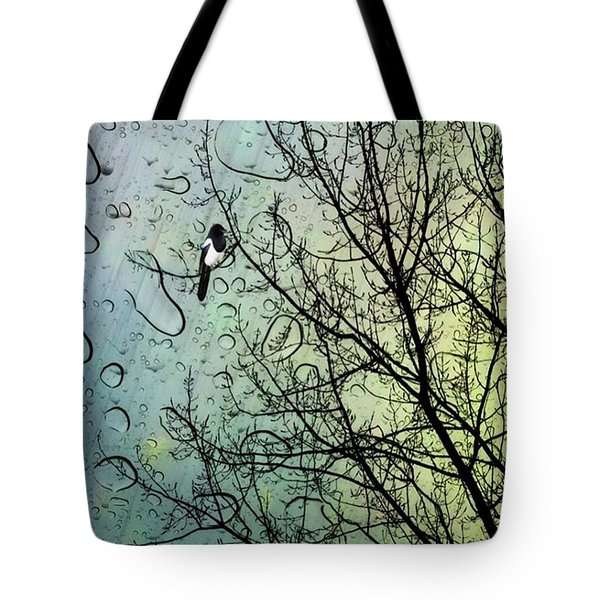 One For Sorrow #nurseryrhyme Tote Bag