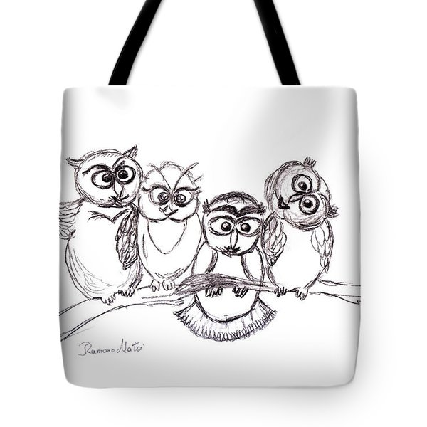 One Happy Family Tote Bag