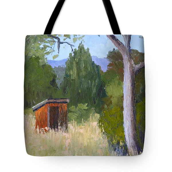 One Holer Tote Bag
