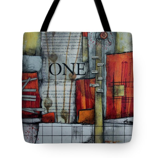 One Imperfect Bloom  Tote Bag