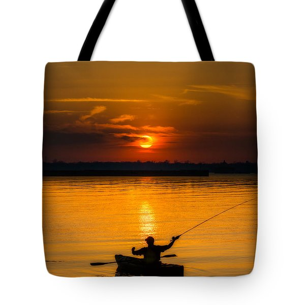 One Last Cast Tote Bag