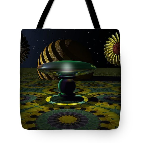 One Last Dream Before Dawn Tote Bag by Lyle Hatch