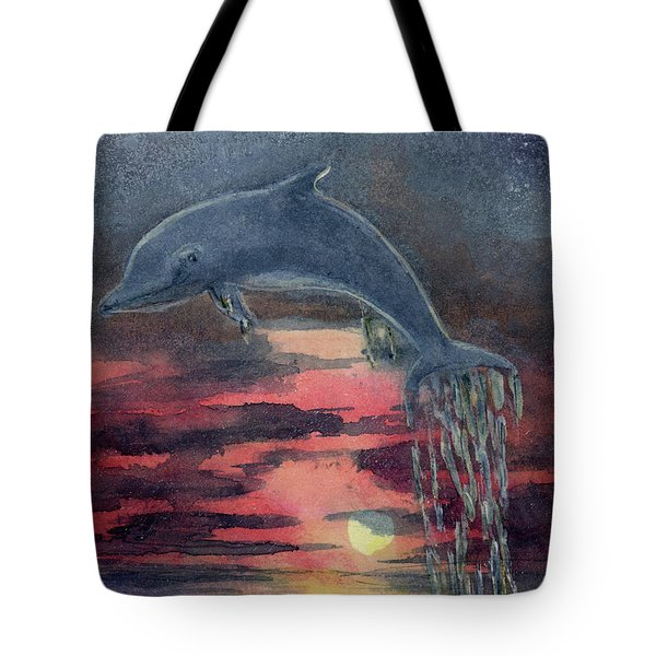 One Last Jump Tote Bag by Randy Sprout