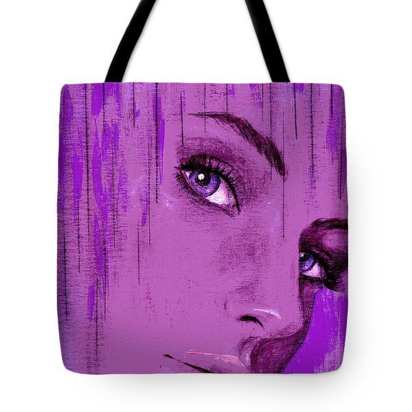 One Last Look Back Tote Bag