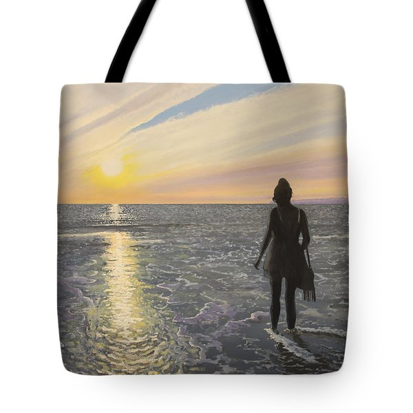 One Last Paddle Tote Bag by Paul Newcastle