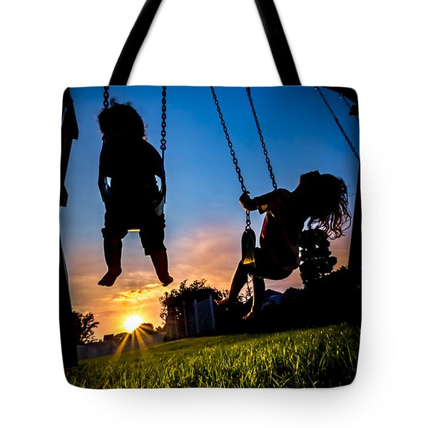 One Last Swing Tote Bag