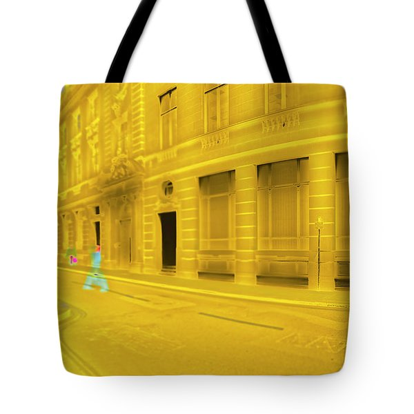 One-legged Man Tote Bag