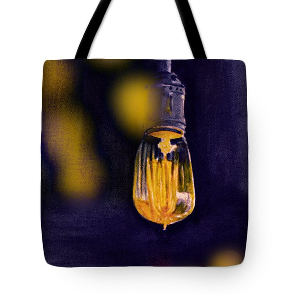 One Light Tote Bag by Allison Ashton